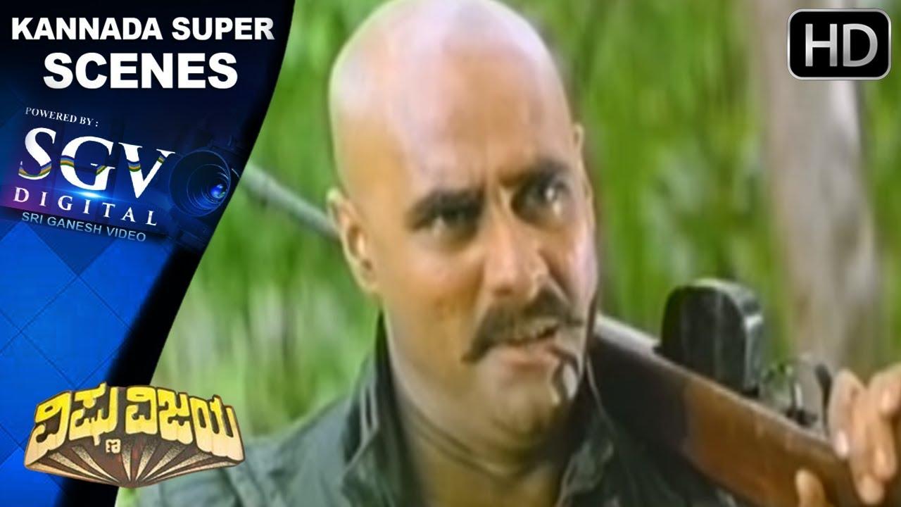 Download Vishunardhan & Akshay Kumar fight Scene   Vishnu Vijaya Kannada Movie Scenes