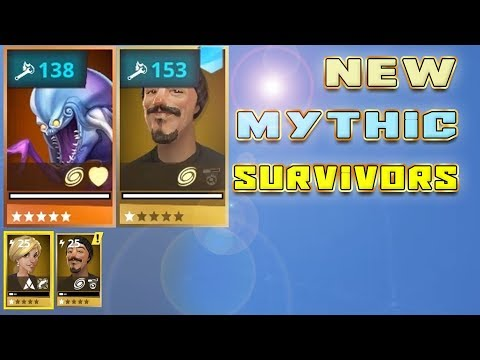 New free Mythic survivors - FIRST non lead mythic survivors