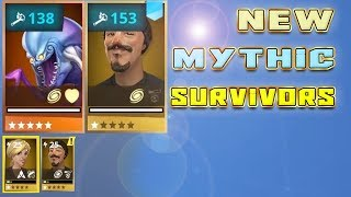 New free Mythic survivors - FIRST non lead mythic survivors in Fortnite STW