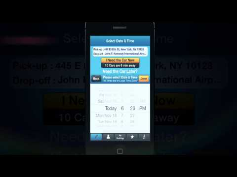 Carmel Limo App: Book A Trip For Now Or For Later - Tutorial