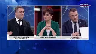 Ersan Şen Cem Küçük'ü Fena Sıkıştırıyor Sert Tartışma