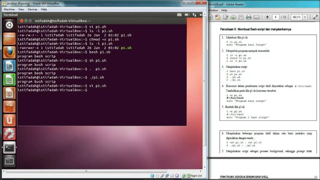 Unix Shell Scripting Tutorial Pdf