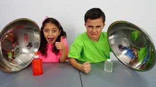 Don't Choose the Wrong Colors Glue Slime Challenge