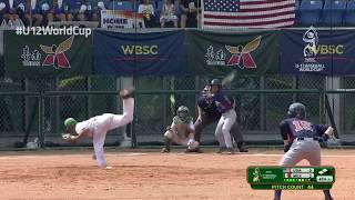 Highlights: USA v MEX - U-12 Baseball World Cup 2019 Tainan