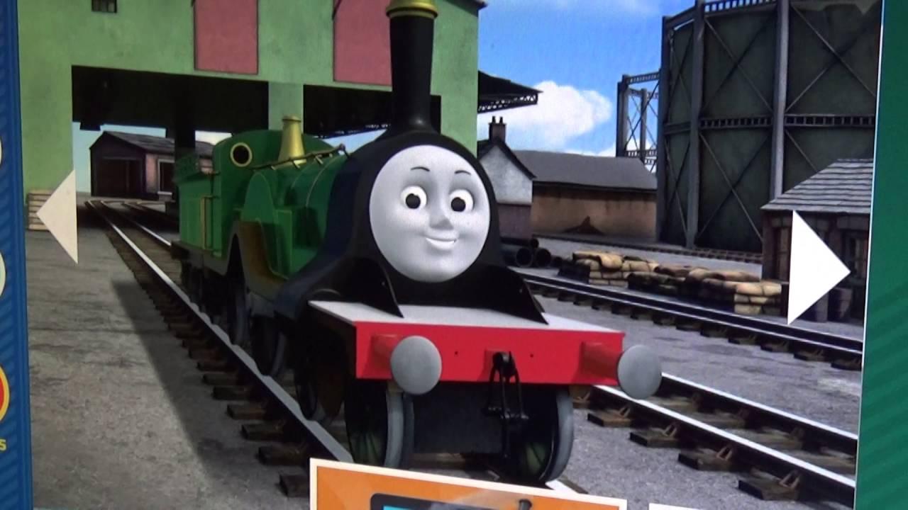 thomas friends emily the emerald engine voice youtube