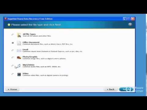 TogetherShare Data Recovery Free quick demo