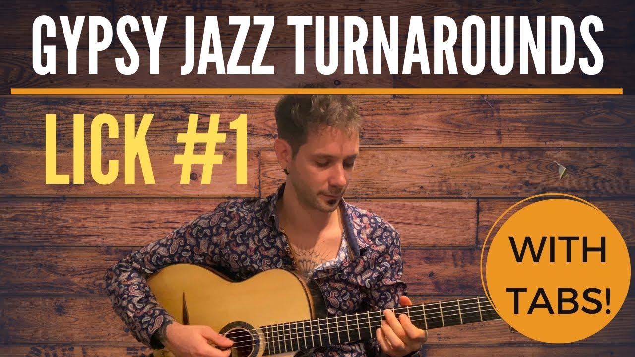 Gypsy Jazz Turnarounds - Lick #1