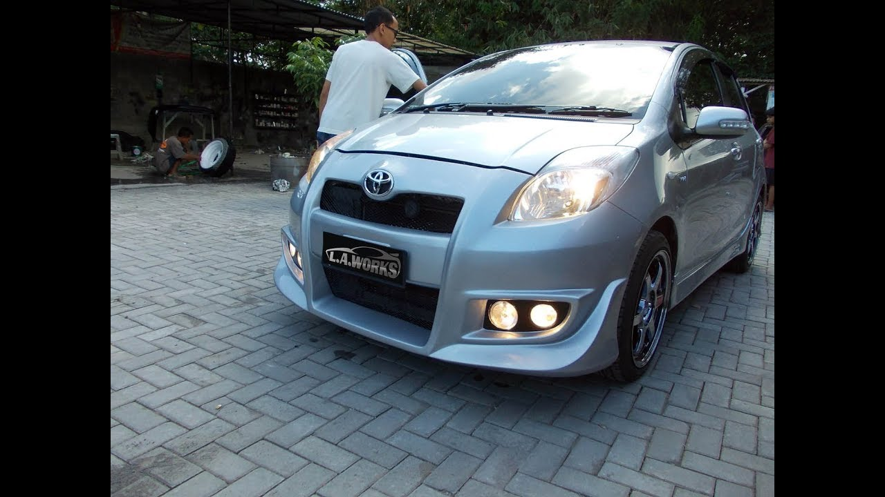Modifikasi Toyota Yaris Bodykit YouTube