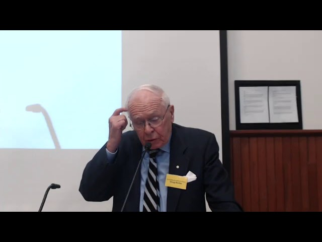 Douglas Roche at the How to Save the World forum