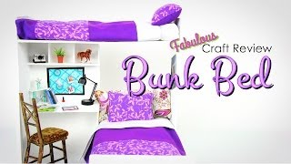 Fabulous Craft Review: Doll Bunk Bed