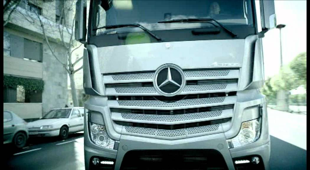 The new mercedes benz actros truck 2012 available at rygor for The new mercedes benz truck