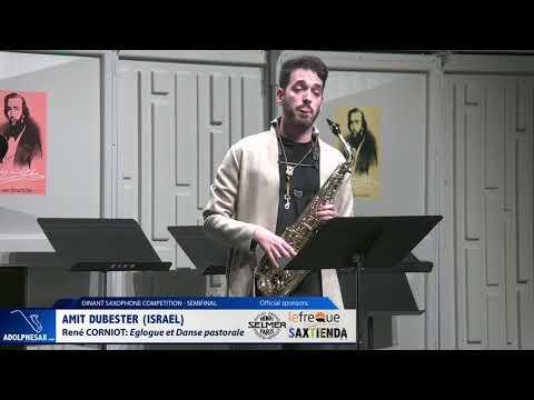 Amit Dubester (Israel) -Eglogue et Danse pastorale by René Corniot (Dinant 2019)