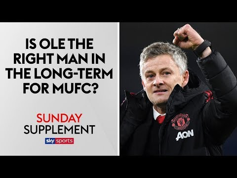 Should Ole Gunnar Solskjær be appointed Man United manager on a permanent basis? | Sunday Supplement