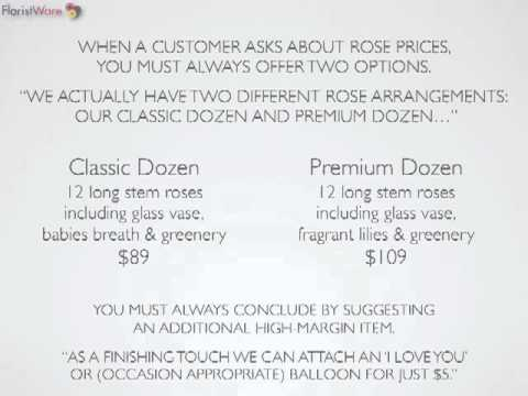 Increasing Order Values with FloralStrategies Part 3/3: Pricing