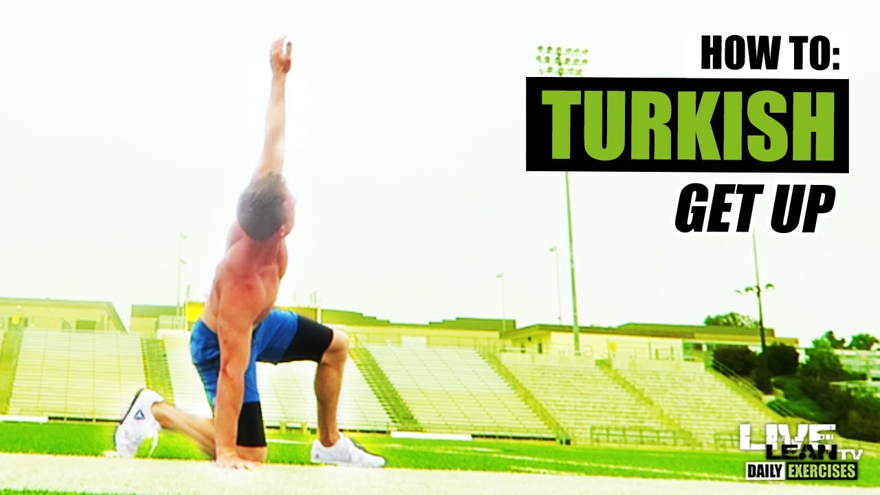 How To Do A Bodyweight Turkish Get Up Exercise Demonstration Video And Guide Youtube