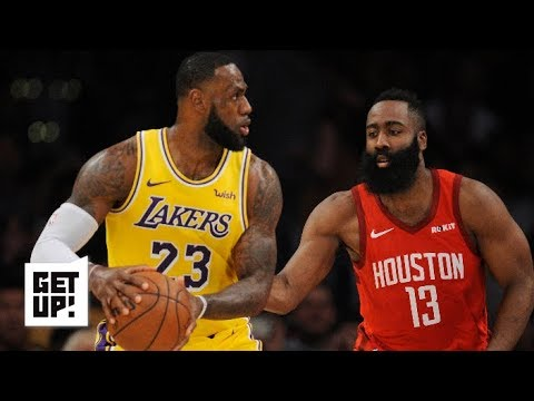 43db4e52b LeBron James took over for the Lakers against the Rockets