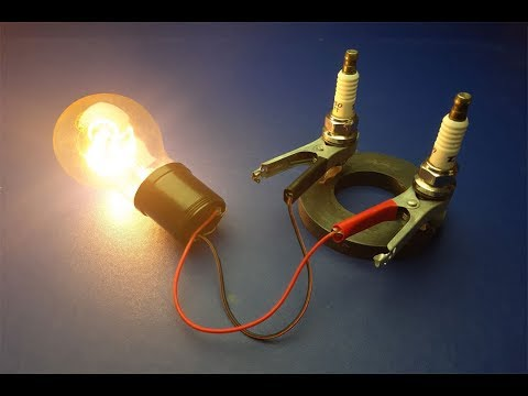Free energy High Voltage Generator 1.5V to 240V New Technology 2019 New Electricity Project