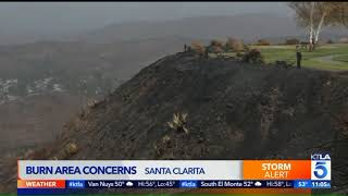 Widespread Rain in SoCal Triggers Concern in Recent Burn Areas