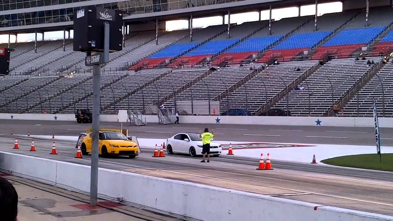 Texas Motor Speedway - Scion Drag & Brag - Drags