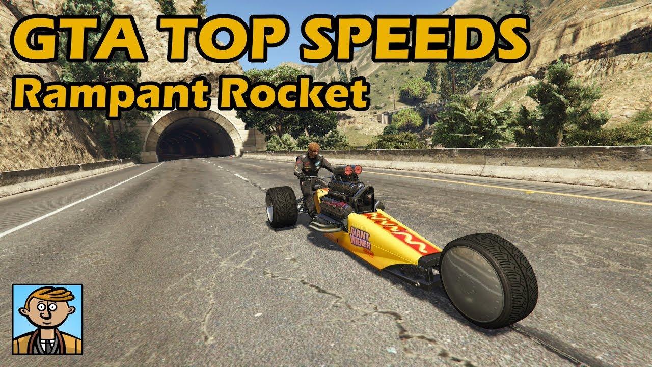 Fastest Motorcycles Rampant Rocket Gta 5 Best Fully Upgraded
