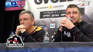🚨👑 AND THE NEW 👑🚨| Oleksander Gvozdyk Post Fight Conference | STEVENSON VS. GVOZDYK | BOXCASTER