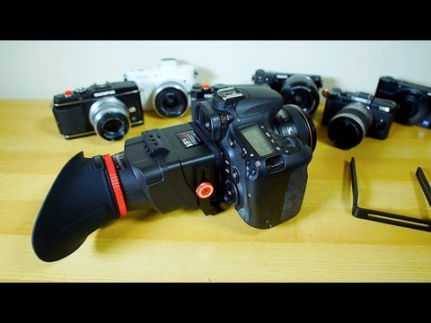 Video Gear You Want - VF-4 LCD View Finder Review