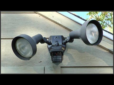 Motion Light Sensor Replacement
