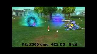 Digimon Masters Online - Gabumon - all evolutions and attacks