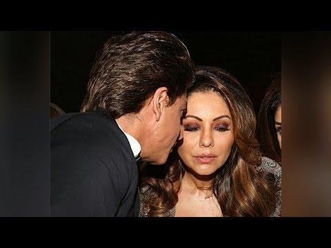 Shah Rukh Khan - Gauri Khan Romance Caught on Camera at Vogue Women Of The Year Awards Mp3
