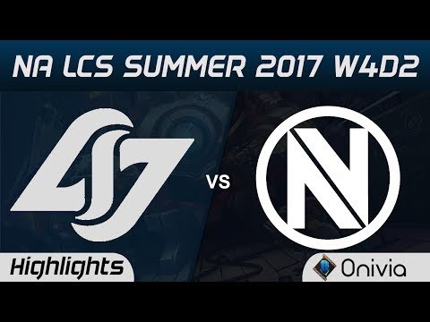 CLG vs NV Highlights Game 2 NA LCS Summer 2017 Counter Logic Gaming vs EnvyUs by Onivia