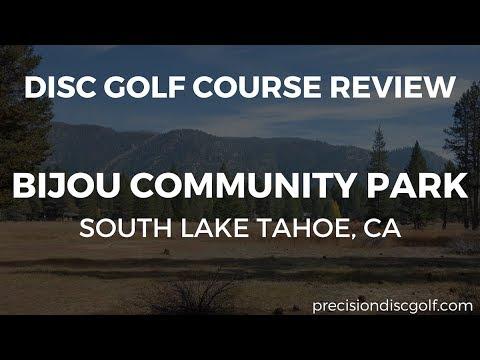 Disc Golf Course Review - Bijou Community Park