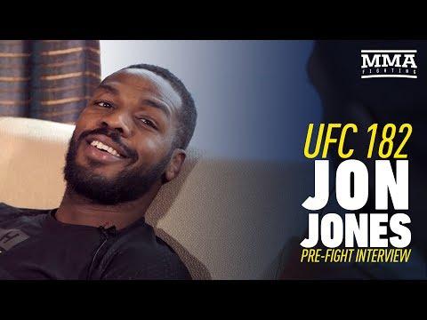 Jon Jones UFC 182 Interview Prior to First Daniel Cormier Fight - MMA Fighting
