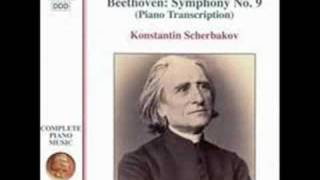 Beethoven/Liszt - Symphony No 9 Piano 3rd Movement 2 of 2