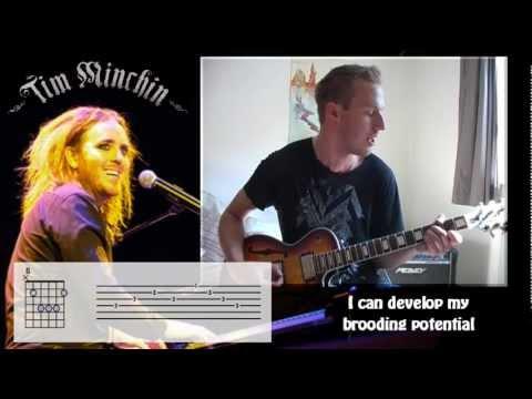 Dark Side Cover / Tab / Lyrics HD - Jim Brook - Tim Minchin
