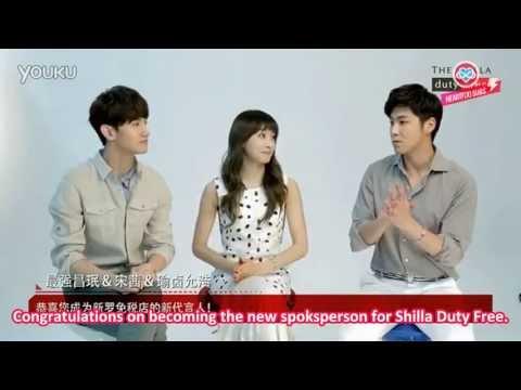 [HeartfxSubs] 130601 Shilla Duty Free Interview - Victoria & TVXQ (eng)