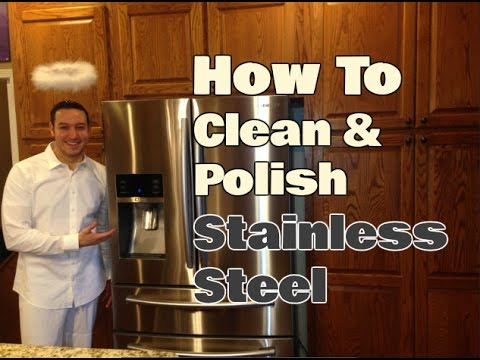 how to clean stainless steel appliances 2 easy steps clean with confidence youtube. Black Bedroom Furniture Sets. Home Design Ideas