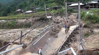 Tin Tức 24h:Thiệt hại về hạ tầng giao thông do mưa lớn ở các tỉnh miền núi phía Bắc và miền Trung