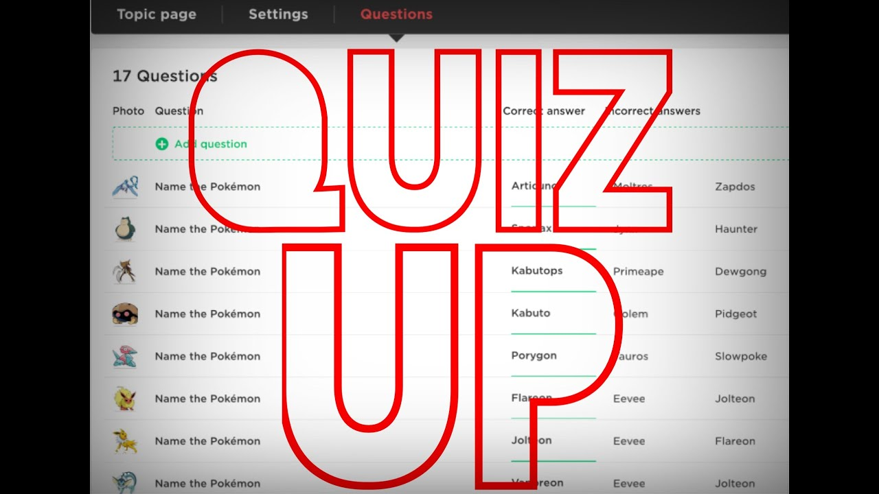 How To Edit Quizup Quizzes On Ipad! (grotle's Grotto)