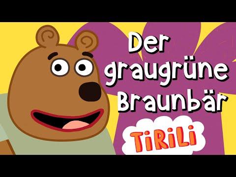 Der Graugrüne Braunbär 🐻   TiRiLi - Kinderlieder Mitsingen