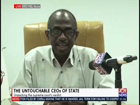 The Untouchable CEOs Of State - PM Express on JoyNews (25-6-19)