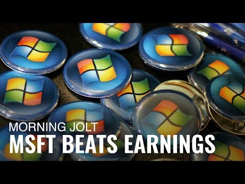 Microsoft Earnings Blew Minds on Wall Street, But Did General Electric's?