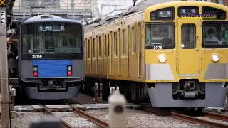 西武池袋線休日ダイヤ列車観察20190706
