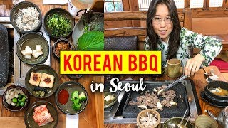KOREAN BBQ in Seoul, South Korea