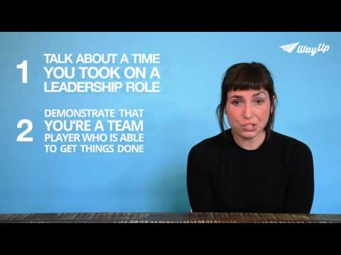 How to Answer: How Have You Displayed Leadership? | Career