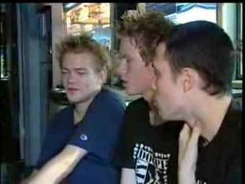 Sum 41 Tour Bus Interview