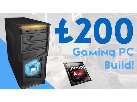 BEAST £200 BUDGET GAMING PC BUILD 2016! [HD GAMING!]