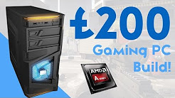 BEAST £200 BUDGET GAMING PC BUILD 2016! [HD GAMING!]