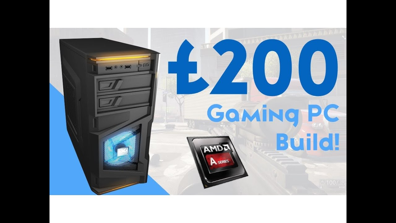 Beast 200 Budget Gaming Pc Build 2016 Hd Gaming Youtube