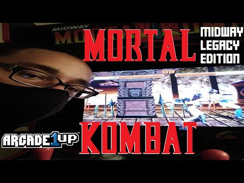 Arcade1UP Mortal Kombat Midway Legacy Edition Unboxing/Gameplay/Review (6/4/21) from rodney.