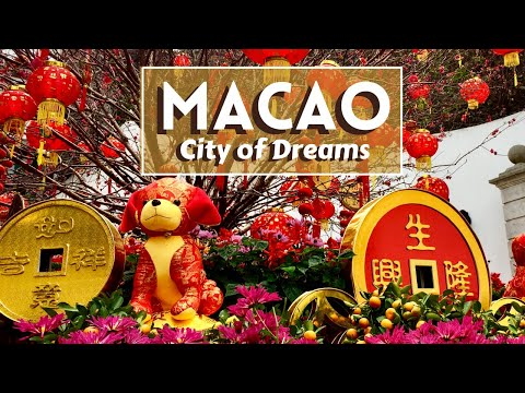 Macau - City of Dreams | Fortaleza do Monte, Senado square, Venetian, Grand Lisboa, A-ma temple